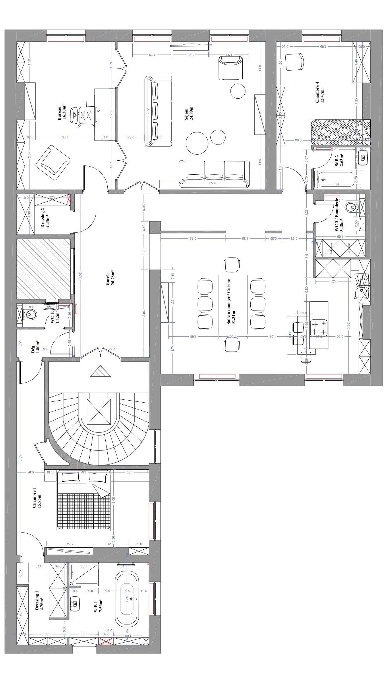 architecture intérieure